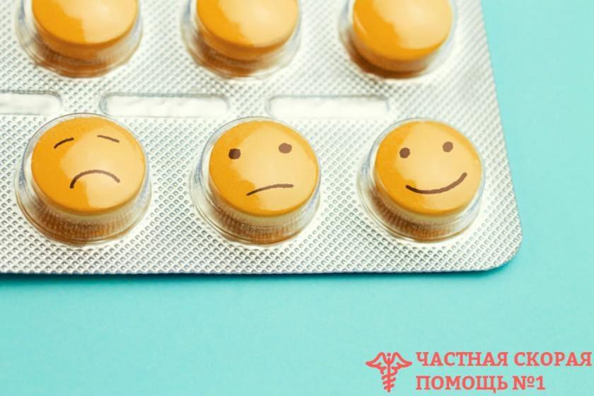 Опасные последствия одновременного приема антидепрессантов и спиртного